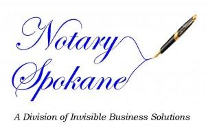 NotarySpokane Logo