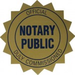 Notary Public Commission Seal pic